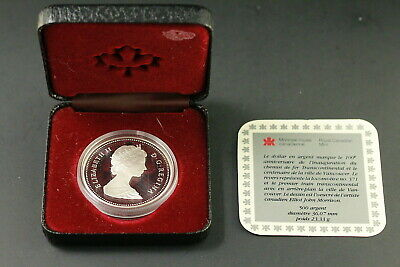 1986 Canada Silver Dollar Vancouver Royal Canadian Mint