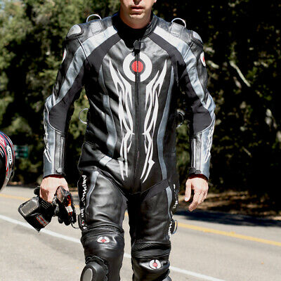 Hostage Leather Race Suit (SIZE 50 US | EU 60) WITHOUT Speed Hump