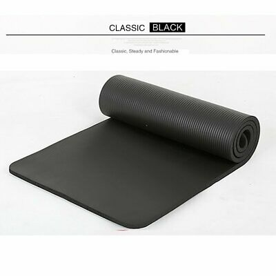 Yoga Mat Non slip Large Thick For Pilates Gymnastic Exercise Stretching Mat Pad