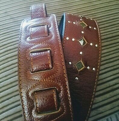 Gaucho Leather Guitar Strap