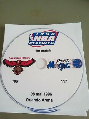 NBA Playoffs 1996 Atlanta Hawks vs Orlando Magic