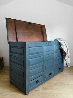 Antique welsh mule chest