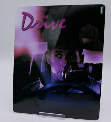 DRIVE - Glossy Bluray Steelbook Magnet Cover (NOT LENTICULAR)