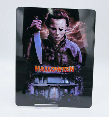 HALLOWEEN - Glossy Bluray Steelbook Magnet Magnetic Cover (NOT LENTICULAR)