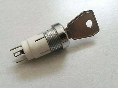 Key Switch ON/OFF Lock Switch 17mm bezel,