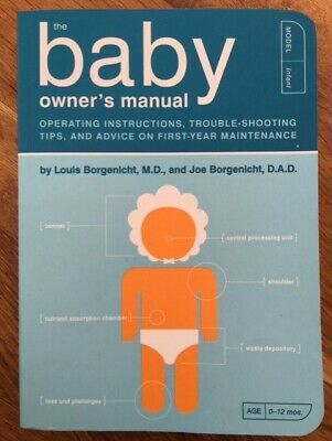 Baby owners manual funny book