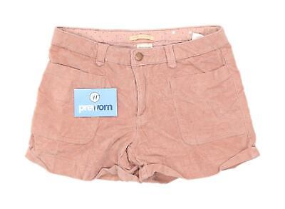 Zara Girls Textured Pink Shorts Age 13-14