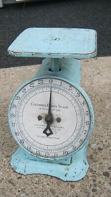 Vintage Columbia Family Scale 24 lbTable Scale