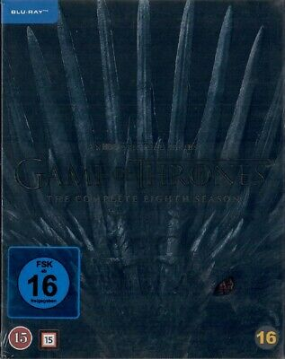 Game of Thrones Staffel 8 Blu-ray Neu und Originalverpackt Die finale Staffel