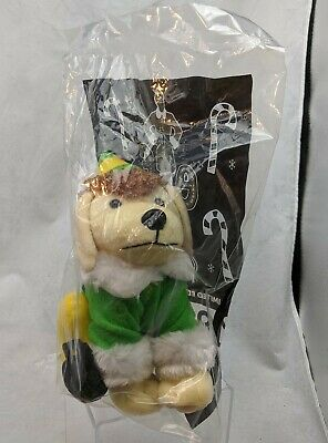 "Raising Canes Chicken Fingers 8"" 2015 Plush Puppy Dog Buddy the Elf NEW & SEALED"