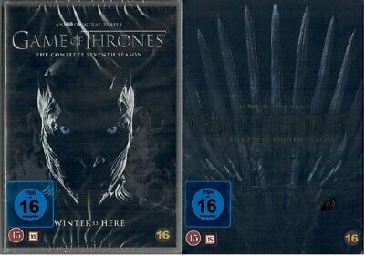 Game of Thrones Staffel 7+8 DVD Set Neu und Originalverpackt