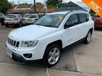 2013 Jeep Compass Crd Limited 4Wd - Superb Condition -  Estate Diesel