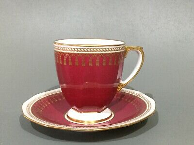"Spode Bone China "" Ryde "" Coffee Cup & Saucer"