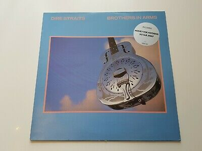 Dire Straits – Brothers In Arms 1985 1st UK Press EX/EX Vinyl LP Classic Rock