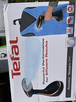 TEFAL Access Steam Care DT9100 Hand Steamer - Black & Copper