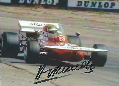 Henri Pescarolo 1971 March 731 - Ford Hand Signed F1 Racing Photograph