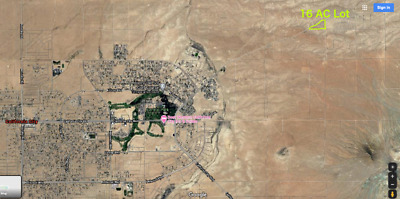 California City 16.1 Acres. Featuring city water power & sewer Town 2 miles away