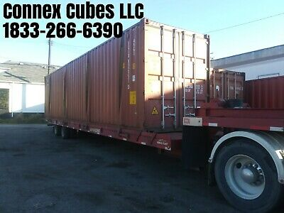 Used 40' High Cube Shipping Container New Orleans, Louisiana
