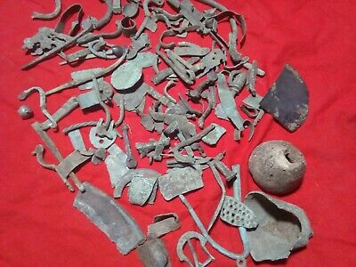 Many fragments of antiquity.