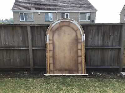 Large victorian overmantle mirror