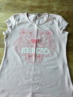 Excellent Condition Girls Pink tee shirt From Kenzo Age 12
