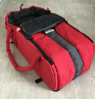 Phil & Teds cocoon Baby Carrier Carrycot Red