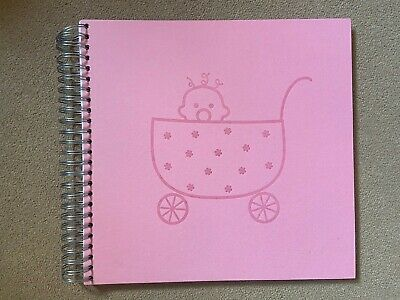 Ordning and Reda Large PINK Photo Album Scrapbook Book 30 Pages 60 Sides 32x32cm