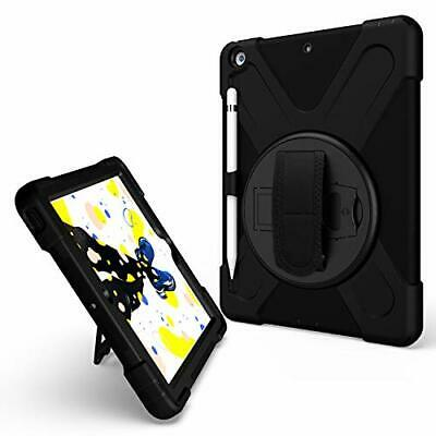 IPad 10.2 Case Protective Shockproof Heavy Duty Rugged 3-Layer Cover Hand Gri...
