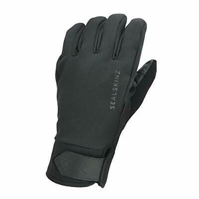 SEALSKINZ Unisex Waterproof All Weather Insulated Glove Black Large