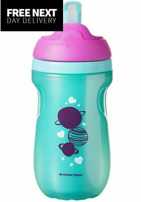 Tommee Tippee Active Straw Cup 12 Months+, Purple
