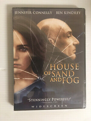 House of Sand and Fog DVD NEW SEALED Widescreen Ben Kingsley Jennifer Connelly