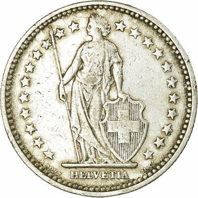 [#458720] Coin, Switzerland, 2 Francs, 1905, Bern, EF(40-45), Silver, KM:21