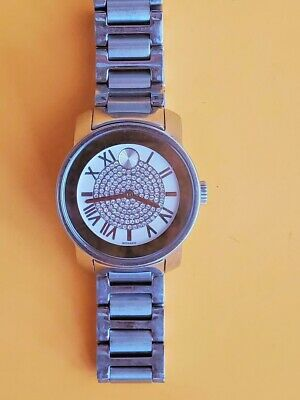 MOVADO Bold Silver Roman Index Dial Two-tone Ladies Watch