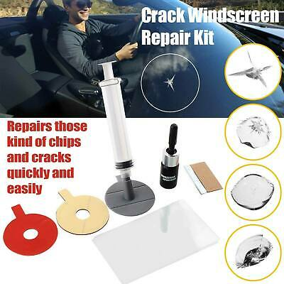 Car Glass Windscreen Window Screen Chip Polishing Scratches Repair DIY Kit