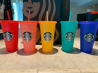 Starbucks Color Changing Cup Single Summer 2020 Tumbler Choose Color RESTOCKED!