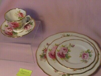 Royal Albert American Beauty 5 Piece Place Setting  ---6 available