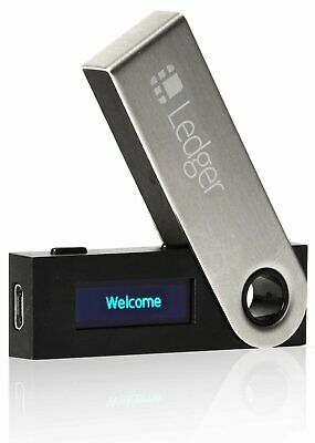 Genuine Ledger Nano S Hardware Crypto Currency Wallet BRAND NEW FACTORY SEALED