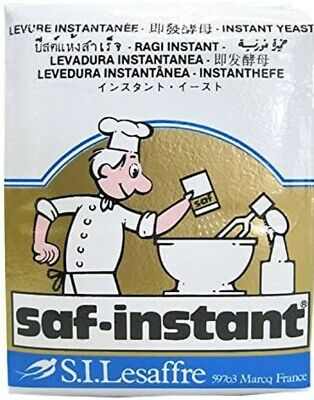 BAKERS BREAD YEAST Saf Levure GOLD Instant Osmotolerant Yeast for Sweet Baking