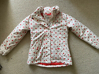 Spotty Girls Raincoat By Regatta Great Outdoors Age 7-8 yrs