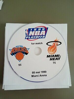 NBA Playoffs 1999 New York Knicks vs Miami Heat