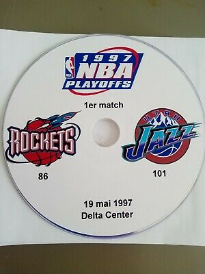 NBA Playoffs 1997 Utah Jazz vs Houston Rockets