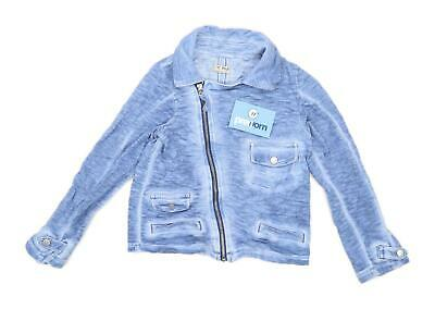 Next Girls Blue Zip Up Jacket Age 8