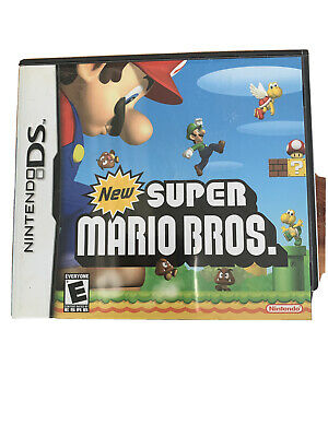 New Super Mario Bros DS  Box And Instructions Only