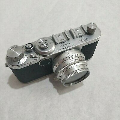 Leica Leitz Wetzlar Ic  35mm Film Camera Body - Clean Example - Body Only!