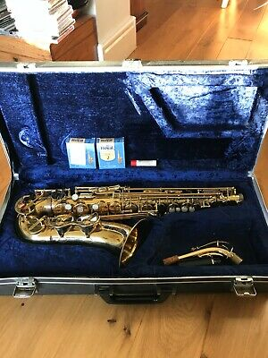 Saxophone  Alto  B and H 400