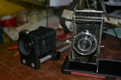 Vintage Welta Compur Camera With Carl Zeiss Jena Lens Untested