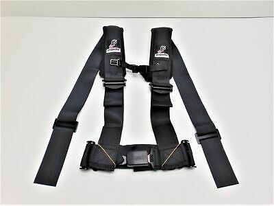 DragonFire Racing Harness Restraint H-Style 4-Point Black