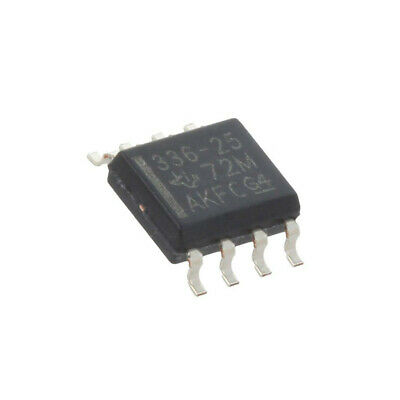 LM336D-2-5 IC: voltage reference source 2.5V ±4% 12mA SO8 TEXAS INSTRUMENTS