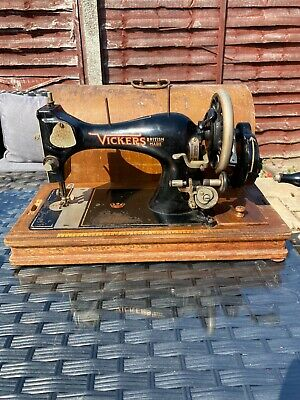 Vintage Vickers Sewing Machine.