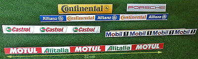 Advert boards for Scalextric / slot tracks